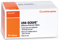 Uni-Solve Adhesive Remover Wipes [402300] 50 ct [040565115658]