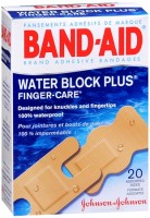BAND-AID Bandages Finger-Care Water Block Plus Assorted Sizes 20 Each [381370044468]