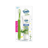 Tom's of Maine Toddler Toothpaste & Toothbrush Set, 1 ea [077326452516]