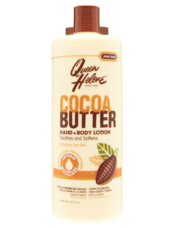 QUEEN HELENE Cocoa Butter Hand and Body Lotion 32 oz [079896174812]