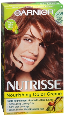 Nutrisse Haircolor - 535 Chocolate Caramel (Medium Golden Mahogany Brown) 1 Each [603084245239]