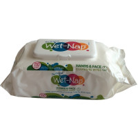 Wet-Nap Hands & Face, Cleansing Wipes 110 ea [074887683403]