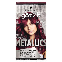 Schwarzkopf Got2B Metallic Permanent Hair Color, 1 ea [052336915473]