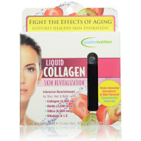 Applied Nutrition Liquid Collagen Skin Revitalization, Strawberry & Kiwi 10 ea [710363578374]