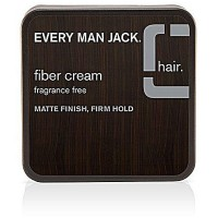 Every Man Jack Fiber Cream Matte Finish Firm Hold 2.65 oz [878639001114]