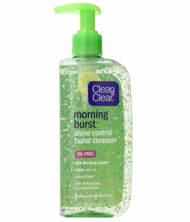 CLEAN & CLEAR Morning Burst Shine Control Facial Cleanser Oil-Free 8 oz [381370023302]
