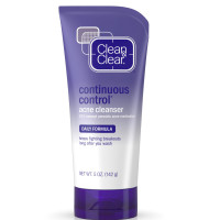 CLEAN & CLEAR Continuous Control Acne Cleanser 5 oz [381370032892]