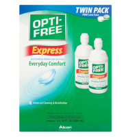 OPTI-FREE Express Multi-Purpose Disenfecting Solution, Everyday Comfort 2 x 10 FL oz [300653144497]