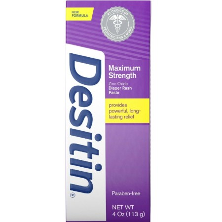 DESITIN Maximum Strength Diaper Rash Paste 4 oz [074300000718]