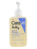 CeraVe Baby Wash and Shampoo, 8 oz [301872220016]