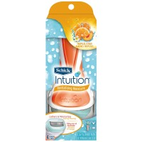 Schick Intuition Revitalizing Moisture Razor, Tropical Citrus 1 ea [841058041016]