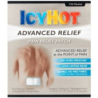 ICY HOT Advanced Pain Relief Patch 5 ea [041167080504]