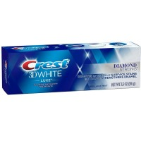 Crest 3D White Luxe Diamond Strong Toothpaste 3.5 oz [037000971337]
