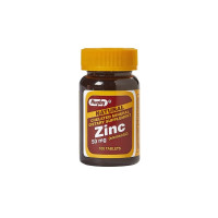 Rugby Zinc Supplement 50 mg Strength Tablet, 100 ea [005366671017]