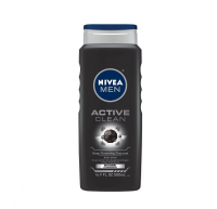 NIVEA FOR MEN Body Wash Active Clean 16.9 oz [072140018023]