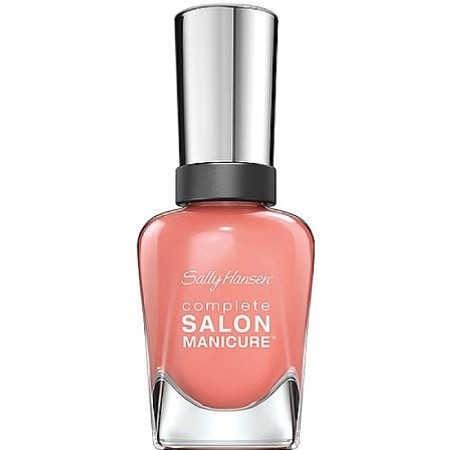 Sally Hansen Complete Salon Manicure Nail Polish, Peach of Cake 0.5 oz [074170399141]