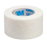"3M Medical Tape Micropore Skin Friendly Paper 2"" X 10 Yard White NonSterile, 1 ea [707387065980]"