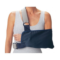 "ProCare 79-84165 Shoulder Immobilizer with Foam Straps, Medium, 8"" Envelope Size Depth, 15"" Length  1 ea [888912032711]"