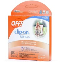 OFF! clip On Mosquito Repellent Refills 2 ea [046500703195]