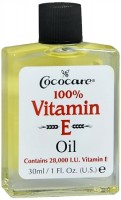 Cococare 100% Vitamin E Oil, 1 oz [075707042004]