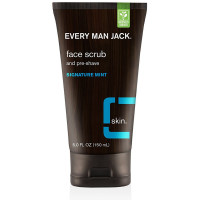 Every Man Jack  Face Scrub & Pre-Shave, Signature Mint 5 oz [878639000575]