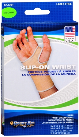 Sport Aid Slip-On Wrist Support MD 1 Each [763189016711]