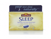 Nature Made Natural Sleep Aid Liquid Softgels 30 ea [031604025755]