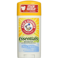 ARM & HAMMER Essentials Natural Deodorant Unscented 2.50 oz [033200197928]