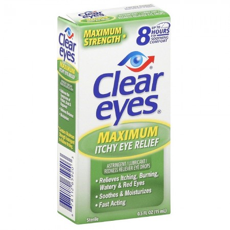 Clear Eyes Maximum Itchy Eye Relief 0.50 oz [678112659203]