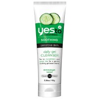 Yes to Cucumbers Soothing Daily Gel Cleanser, Sensitive Skin 3.38 oz [813866014278]