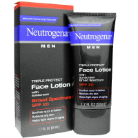 Neutrogena Men Triple Protect Face Lotion with Sunscreen SPF 20 1.70 oz [070501020135]