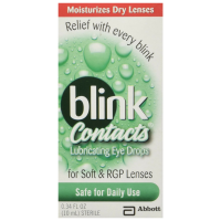 blink Contacts Lubricating Eye Drops 10 mL [827444000324]
