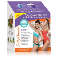 Sally Hansen Ouch-Relief Stripless Hard Wax Kit 1 ea [074170411409]