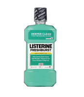 Listerine Antiseptic Mouthwash, Fresh Burst 500 mL [312547428255]