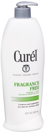 Curel Continuous Comfort Lotion Fragrance Free 20 oz [019045105472]