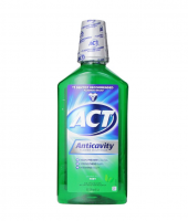 ACT Anticavity Fluoride Rinse, Mint, 33.8 oz [041167094334]