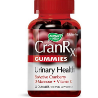 Nature's Way CranRx Uninary Health Gummies 50 ea [033674106242]
