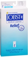 JOBST Medical LegWear Knee High 20-30 mmHg Firm Compression X-Large Beige Close-Toe 1 Pair [035664146238]