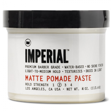 Imperial Barber Products Matte Pomade Paste 4 oz [855070005031]