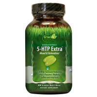 Irwin Naturals Double Potency 5-HTP Extra Supplement 60 ea [710363585372]