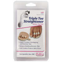 PediFix Triple Toe Straightener, Left Foot 1 ea [092437815807]