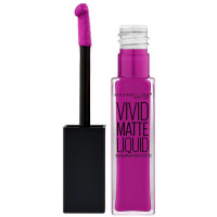 Maybelline Color Sensational Vivid Matte Liquid Lipstick, Orchid Shock 0.26 oz [041554493603]