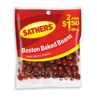 Sathers Boston Baked Beans 12 pack (2oz per pack)  [075602101578]