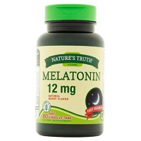Nature's Truth Melatonin Fast Dissolve Tablets 12 mg, Natural Berry Flavor 60 ea [840093102102]