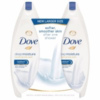 Dove Nourishing Body Wash, Deep Moisture, Twin Pack 44 oz [011111536722]