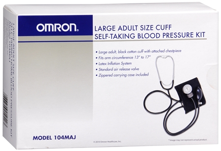 Omron Majestic Self-Taking Blood Pressure Kit 104MAJ 1 Each [073796010423]