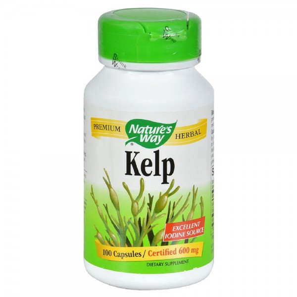 Nature S Way Kelp  Mg  Capsules