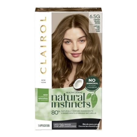 Natural Instincts Non-Permanent Color  - 6.5 G (Lightest Golden Brown) 1 Each [3614226794567]