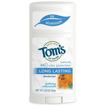 Tom's of  Maine Natural Long-Lasting Deodorant, Soothing Calendula 2.25 oz [077326655252]