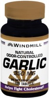 Windmill Garlic 350 mg Tablets Natural Odor-Controlled 100 Tablets [035046002763]
